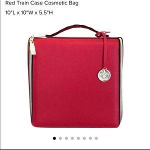 Estée Lauder Large Red Make-Up Bag